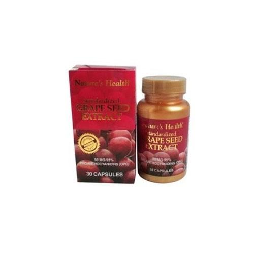 Natures Health Grape Seed - 50 Mg