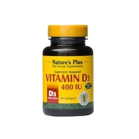 Natures Plus Vitamin D3 400