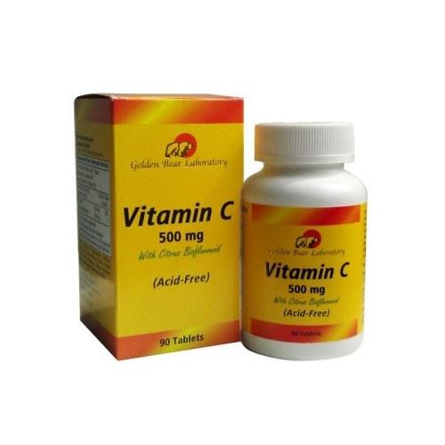 Golden Bear Vit C Acid Free - 500 Mg