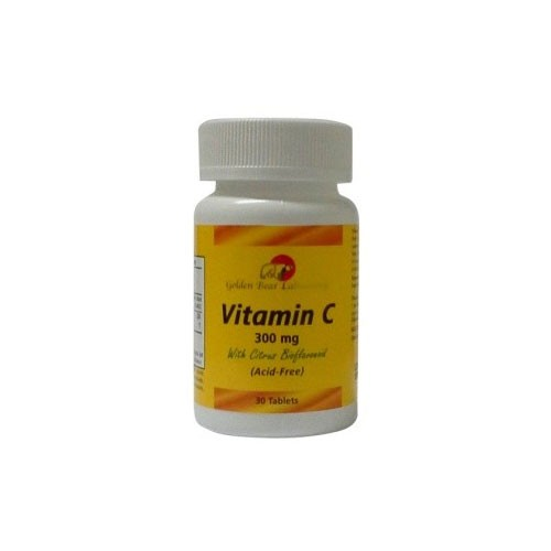 Golden Bear Vit C Acid Free - 300 Mg