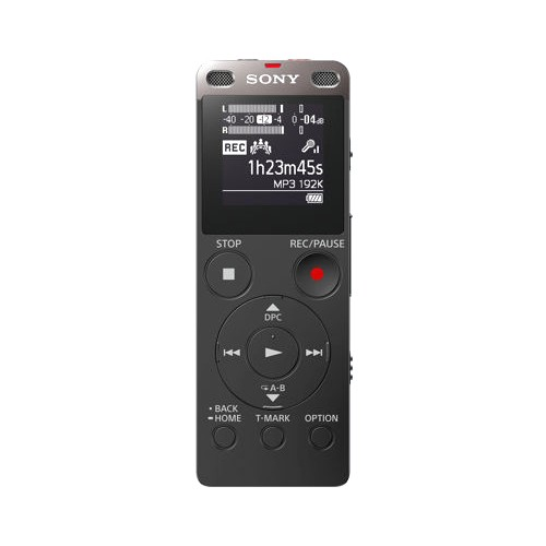 Sony Digital Voice Recorder with Built-in USB ICD-UX560 - Black
