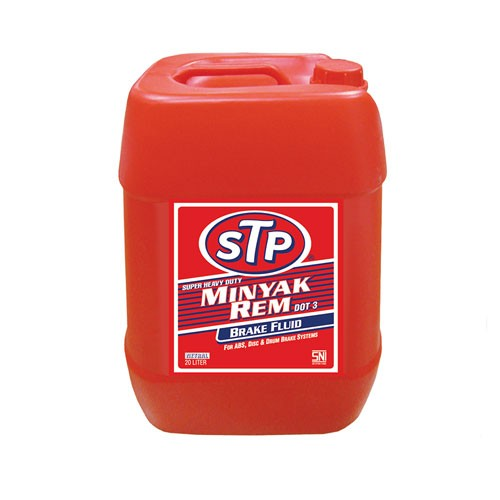 STP Super Heavy Duty Brake Fluid Dot-3 Neutral ST-0974 M - 20 Liter