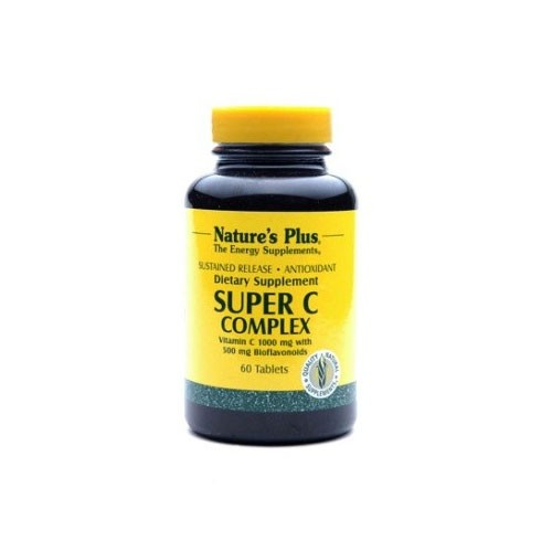Natures Plus Super C Complex Sustained Release - 60 Tablets