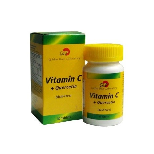 Golden Bear Vit C + Quercetin - 30 Tabs