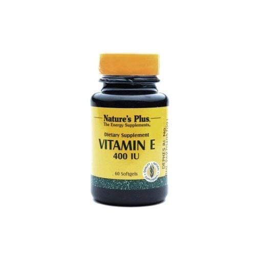 Natures Plus Vitamin E 400 IU - 60 Softgels