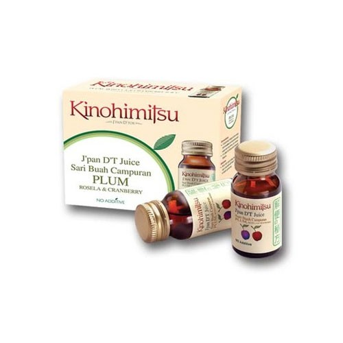 Kinohimitsu JPAN DT Juice Plum - 3 Botol