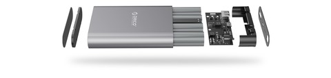 Orico Power Bank Quick Charge 2.0 10.400 mAh Q1 - Silver