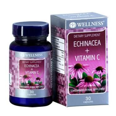 Wellness Echinacea + Vit. C - 30 Caps
