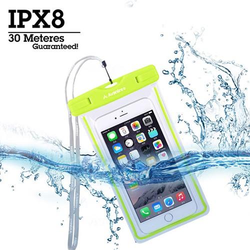 Avantree Universal Waterproof Cell Phone Bag - Jellyfish