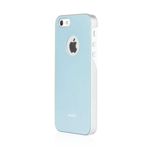 Moshi iGlaze case for iPhone SE/5/5S - Coral Blue