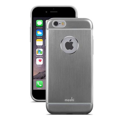Moshi iGlaze Armour Case for iPhone 6/6s Plus - Gunmetal Grey