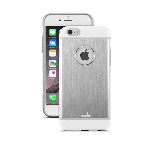 Moshi iGlaze Armour Case for iPhone 6/6s - Silver