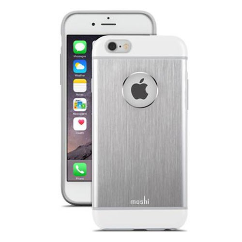 Moshi iGlaze Armour Case for iPhone 6/6s Plus - Silver
