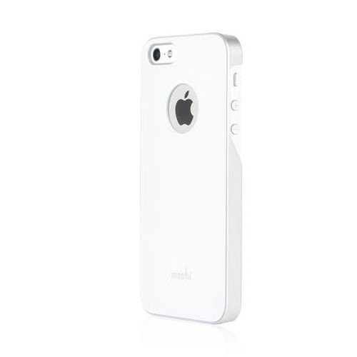 Moshi iGlaze case for iPhone SE/5/5S - Pearl White