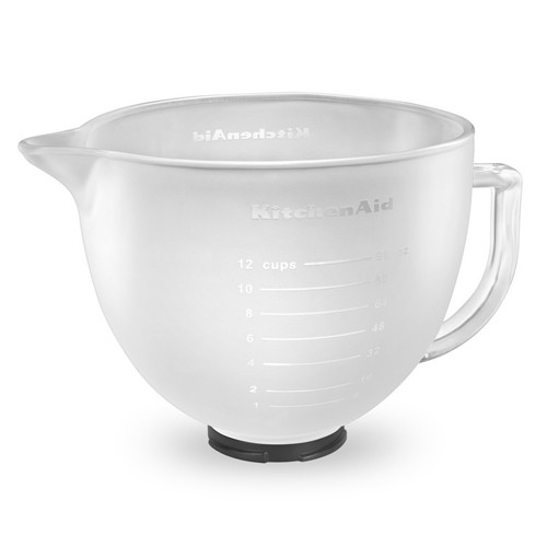 KitchenAid Glass Bowl Frosted K5GBF - 4.8L