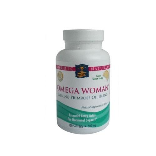 Nordic Omega Woman Lemon - 120 Softgels