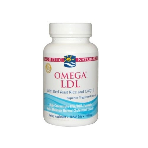 Nordic Omega LDL - 60 Softgels