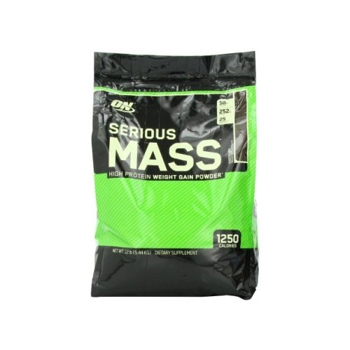 Optimum Nutrition Serius Mass Chocolate - 12 Lb