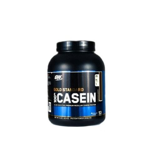 Optimum Nutrition Casein Protein Chocolate  - 4 Lbs