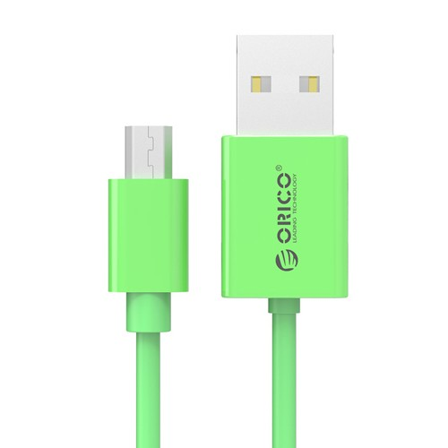 Orico Micro USB 2.0 Faster Charging or Sync Cable 1M BDC-10 - Green