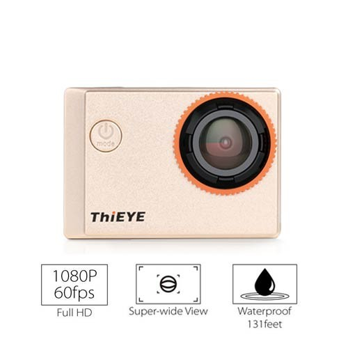 ThiEYE ACtion Camera Wifi i60 1080P - Gold