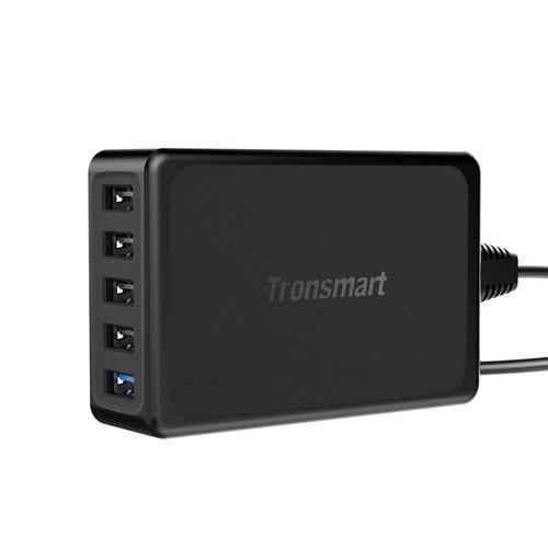 Tronsmart Qualcomm Quick Charger 3.0 5 Port USB & EU Plug - TS-U5PTA