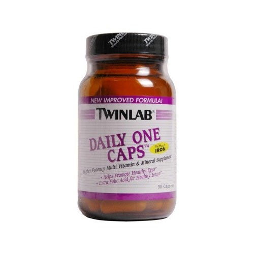 Twinlab Daily One Without Iron - 60 Tablets
