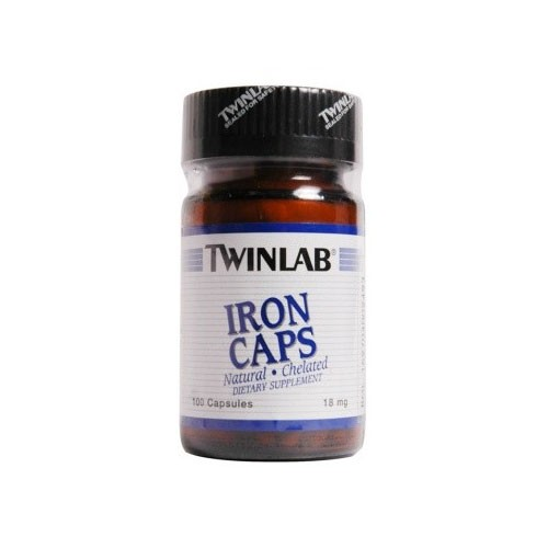 Twinlab Iron Caps - 100 Caps