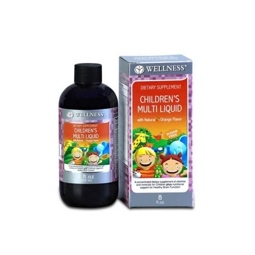 Wellness Children's Multi Liquid - 8 OZ