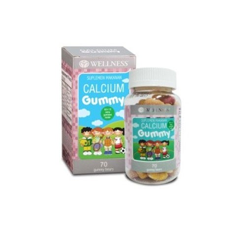 Wellness Calcium Gummy Kids - 70 Gummies