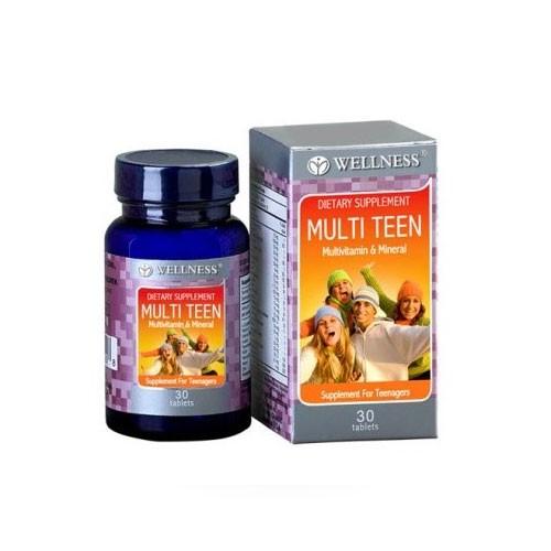 Wellness Multi Teen - 30 Tabs