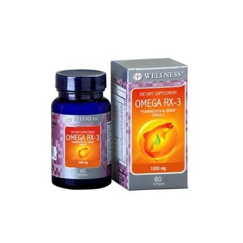 Wellness Omega RX - 3 - 60 Softgels