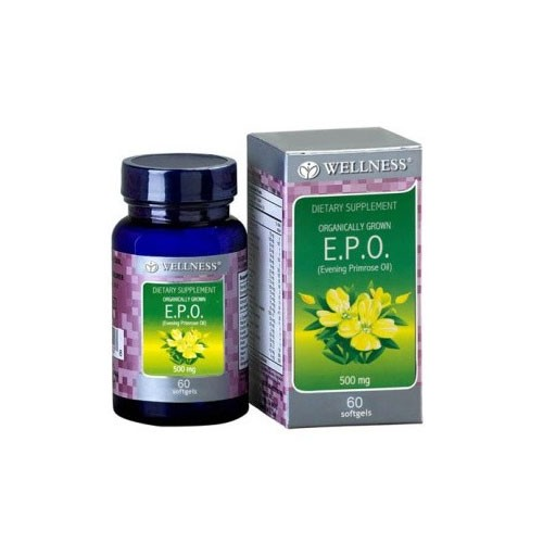 Wellness EPO 500 MG - 60 Softgels