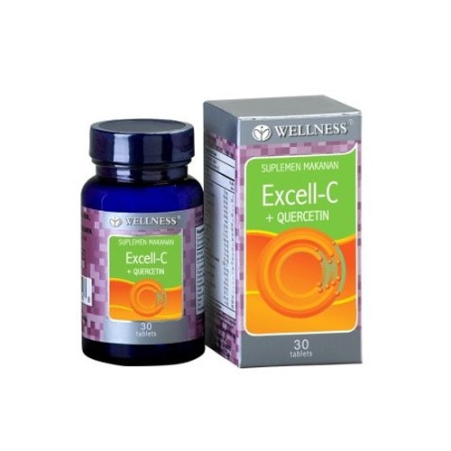 Wellness Excell - C + Quercetin - 30 Tabs