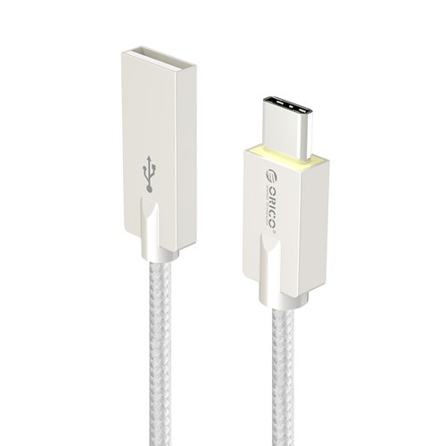 Orico Cable USB-A to USB-C Charge & Sync 1M HCU-10 - Silver