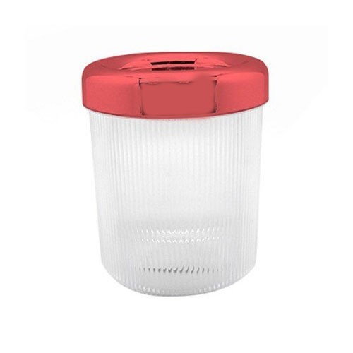 Arniss Java Glaze Color Airtight Canister CN-0111 - Red