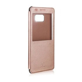 Baseus Sunie Series Leather Case for Galaxy Note FE - Rose Gold