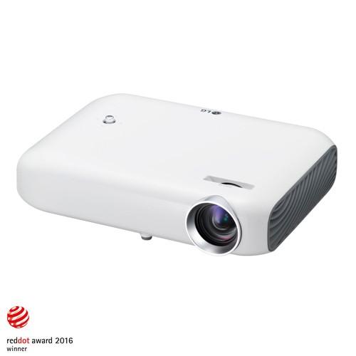 LG Minibeam WXGA 3D LED Projector PW1000