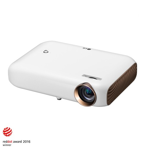 LG Minibeam WXGA 3D LED Projector PW1500