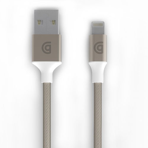 Griffin Extra-long Premium Braided Lightning Cable 10Ft - Gold