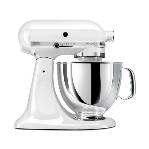 KitchenAid Mixer Artisan Series 5 Qt 5KSM150PSEWH - White