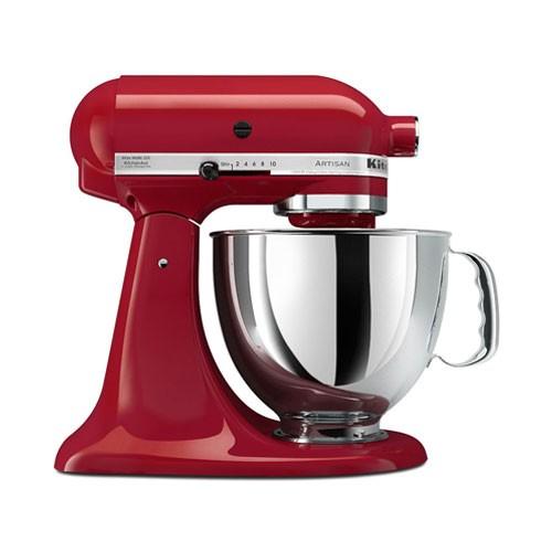 KitchenAid Mixer Artisan Series 5 Qt 5KSM150PSEER - Red