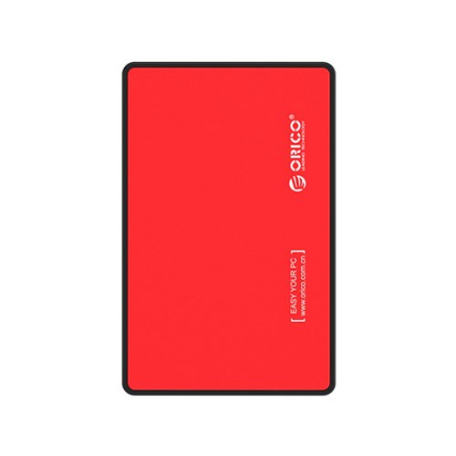Orico USB3.0 2.5-inch External Hard Drive Enclosure (2588US3) - Red