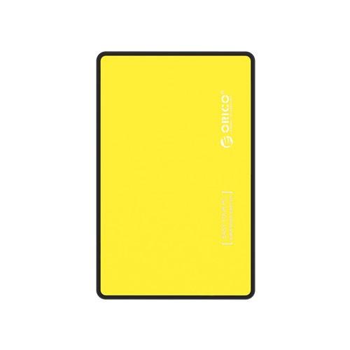 Orico USB3.0 2.5-inch External Hard Drive Enclosure (2588US3) - Yellow