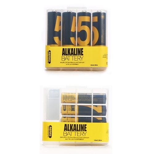 Remax Alkaline Battery Zi5 (AA) 4pcs + Zi7 (AAA) 4pcs