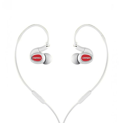 Remax In-ear Headphone RM-S1 Pro Sport - White