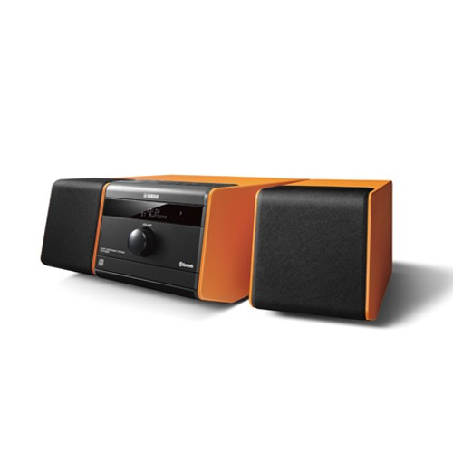 Yamaha Bluetooth Speaker Micro Component System MCR-B020 - Orange