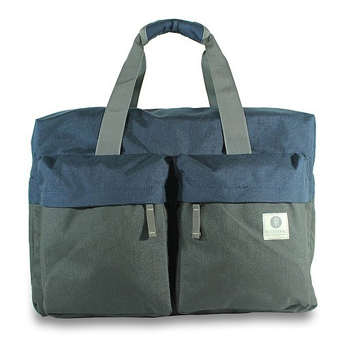 Ridgebake Travel Bag Weekender - Navy & Charcoal
