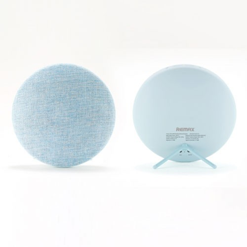 Remax Bluetooth Speaker Hi-Fi Stereo with Canvas Fabric RB-M9 - Blue
