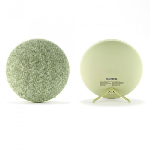 Remax Bluetooth Speaker Hi-Fi Stereo with Canvas Fabric RB-M9 - Green
